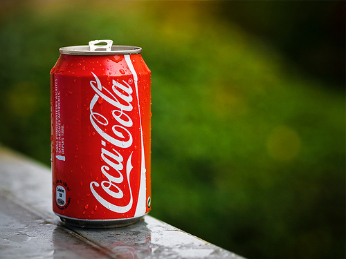 Coke can.