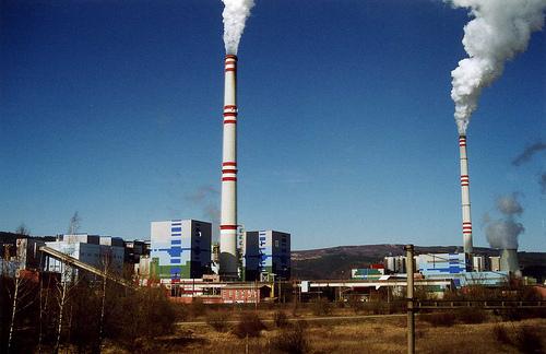 Prunéřov 1 and 2 power stations