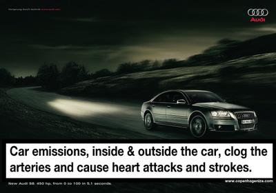 anti-car ad