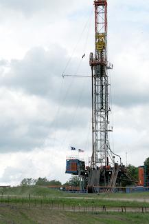 Fracking well.