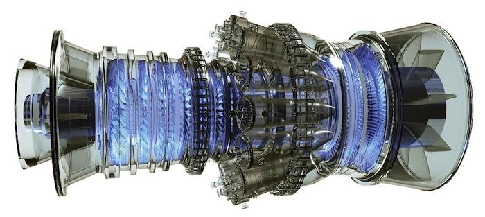 GE natural gas turbine
