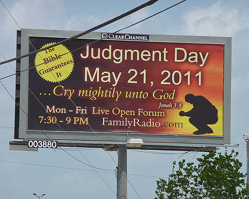 judgment day billboard