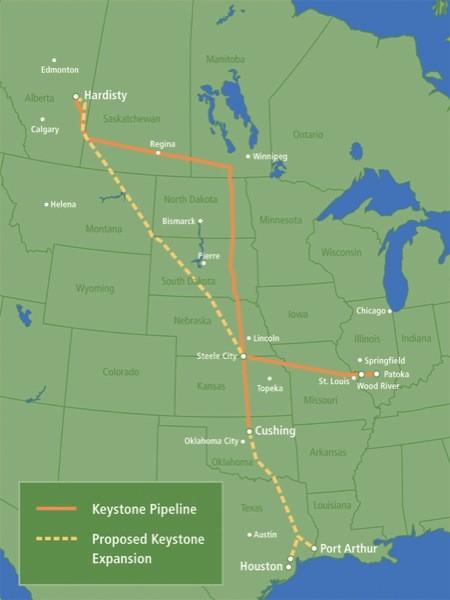 Keystone map.