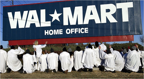 Reverend Billy and Walmart.