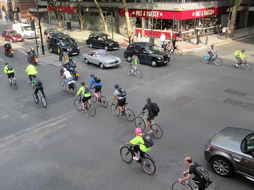 London cycling scene