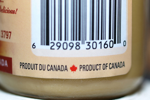 Canada product.