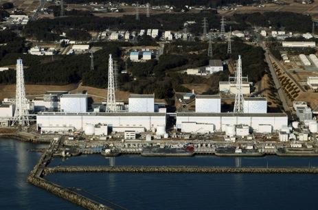 The reactors at Fukushima