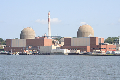 Nuclear plant.