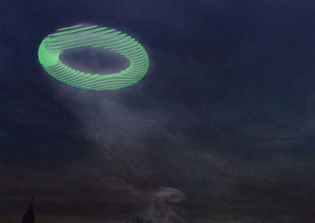 Amager Bakke waste-to-energy plant smoke ring