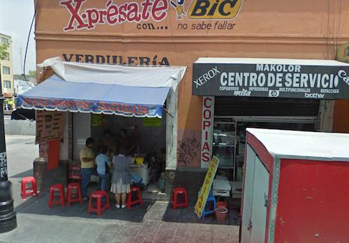 Street scene, Mexico City