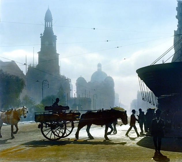 Melbourne, 1917.