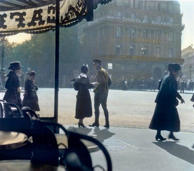 Paris, 1918.