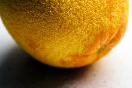 A wasted orange.