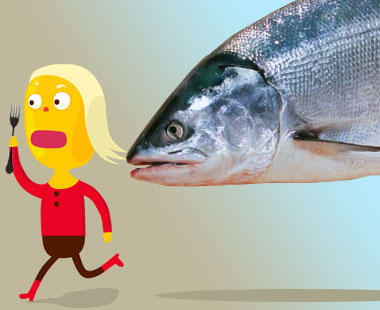 Salmon attack.