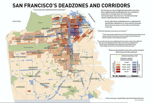 San Francisco deadzones.
