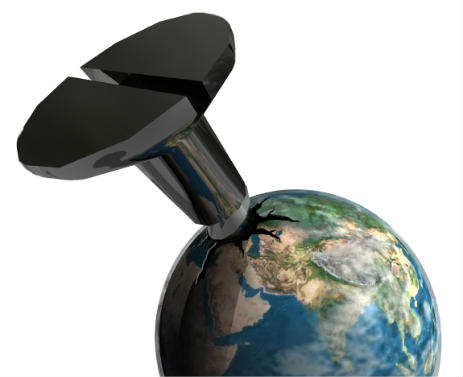 Screwed Earth.