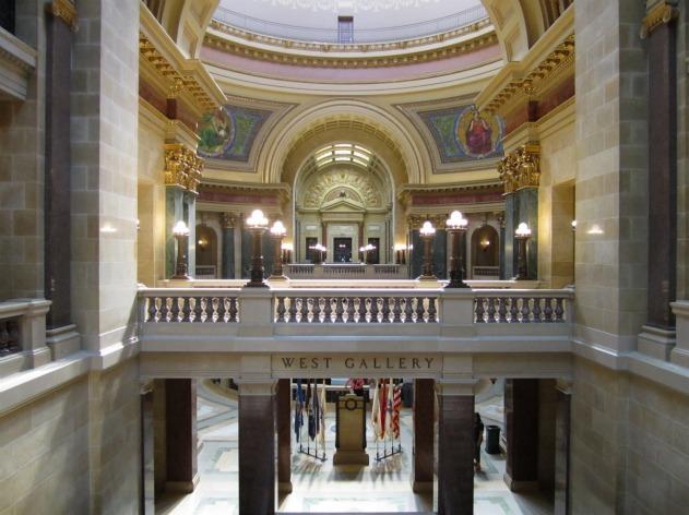 Capitol building interior.