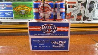 12-pack of beer