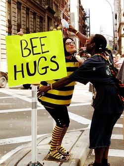 bee hugs