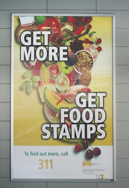 Food stamps ad.
