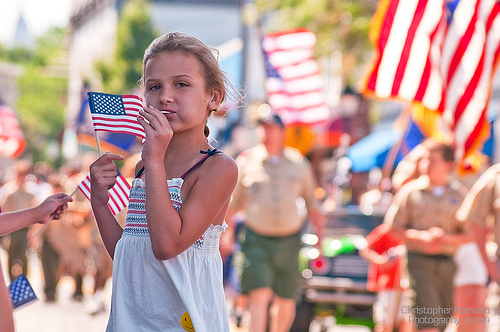 Fourth of July parade.