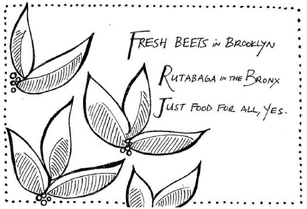 Just Food haiku