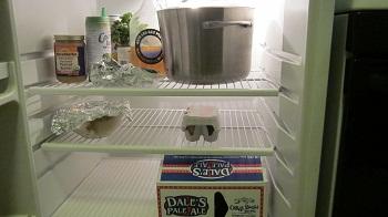 Mike's fridge