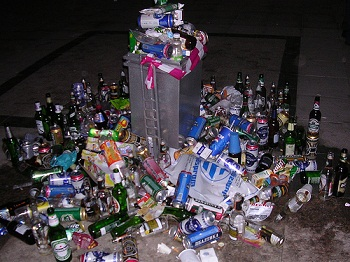 party waste