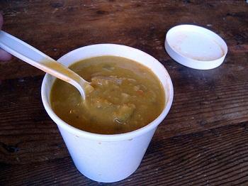 take-out soup