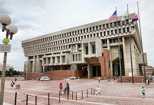 Boston's city hall.