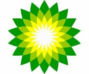 BP's logo is of an offshore rig exploding with money.