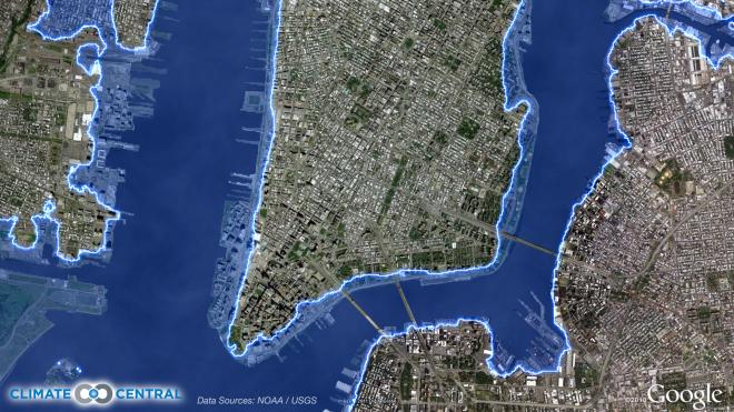 map of new york city coastline