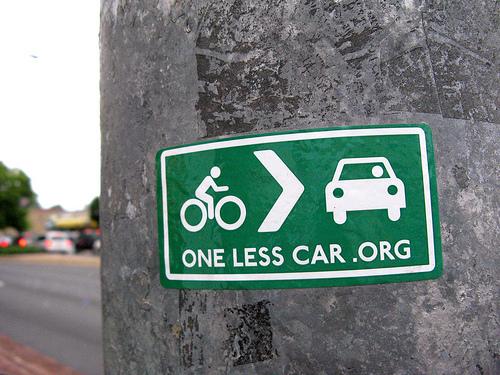 One less car sticker.