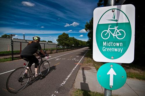 Midtown Greenway.