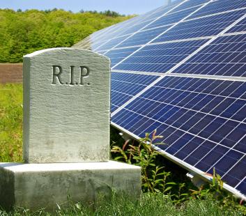 RIP solar