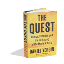 """""""The Quest"""" book cover"""
