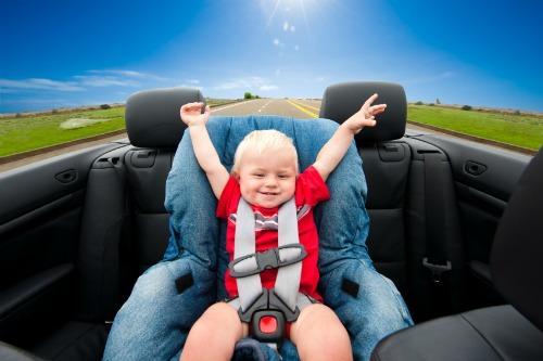 Car seat.