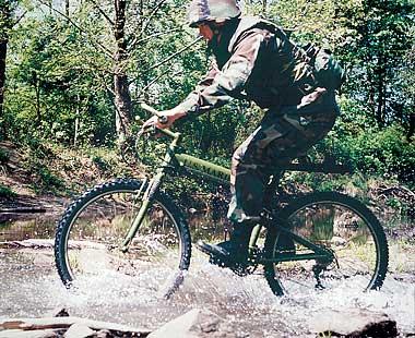 Military bike.