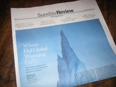 New York Times Sunday Review section