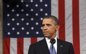 obama w/flag
