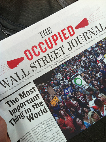 Occupied Wall Street Journal.