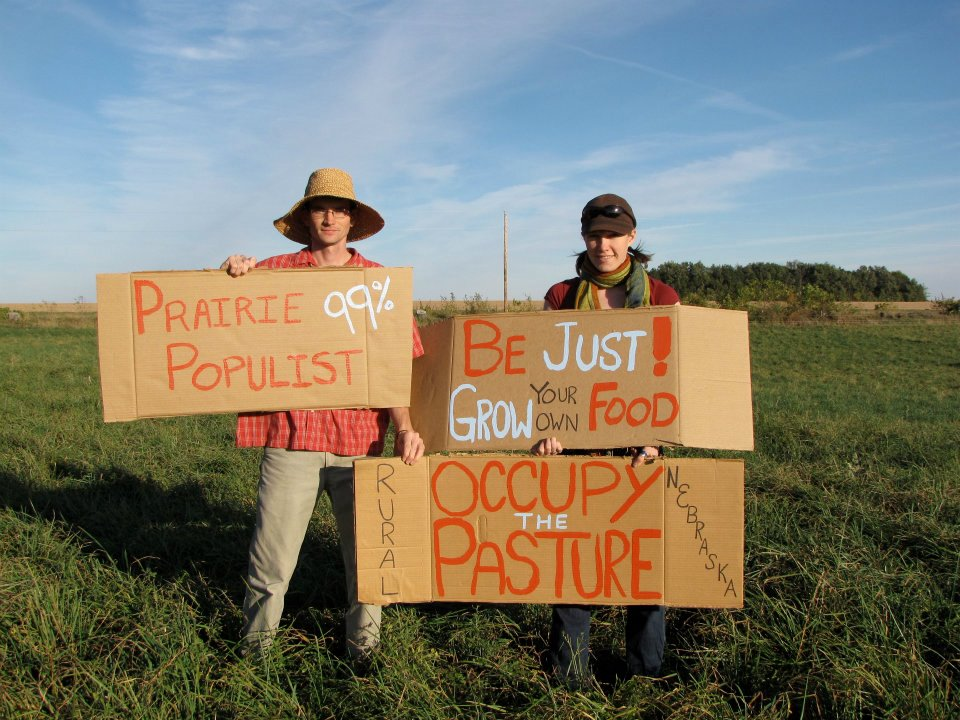 occupy the pasture