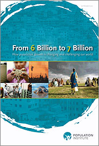 """""""From 6 Billion to 7 Billion"""" report cover"""