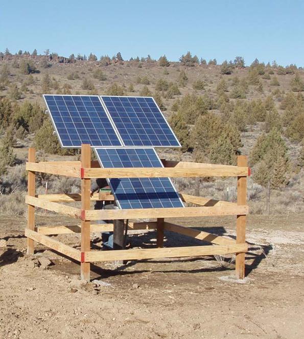 solar panel in a box
