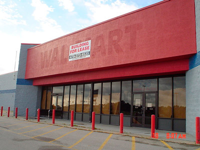 Walmart for lease
