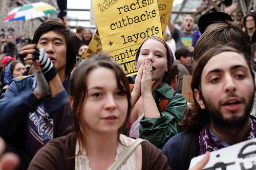 Occupy Wall Street protests.