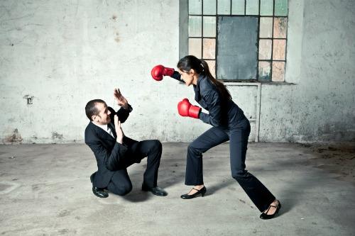 Unfair fight.
