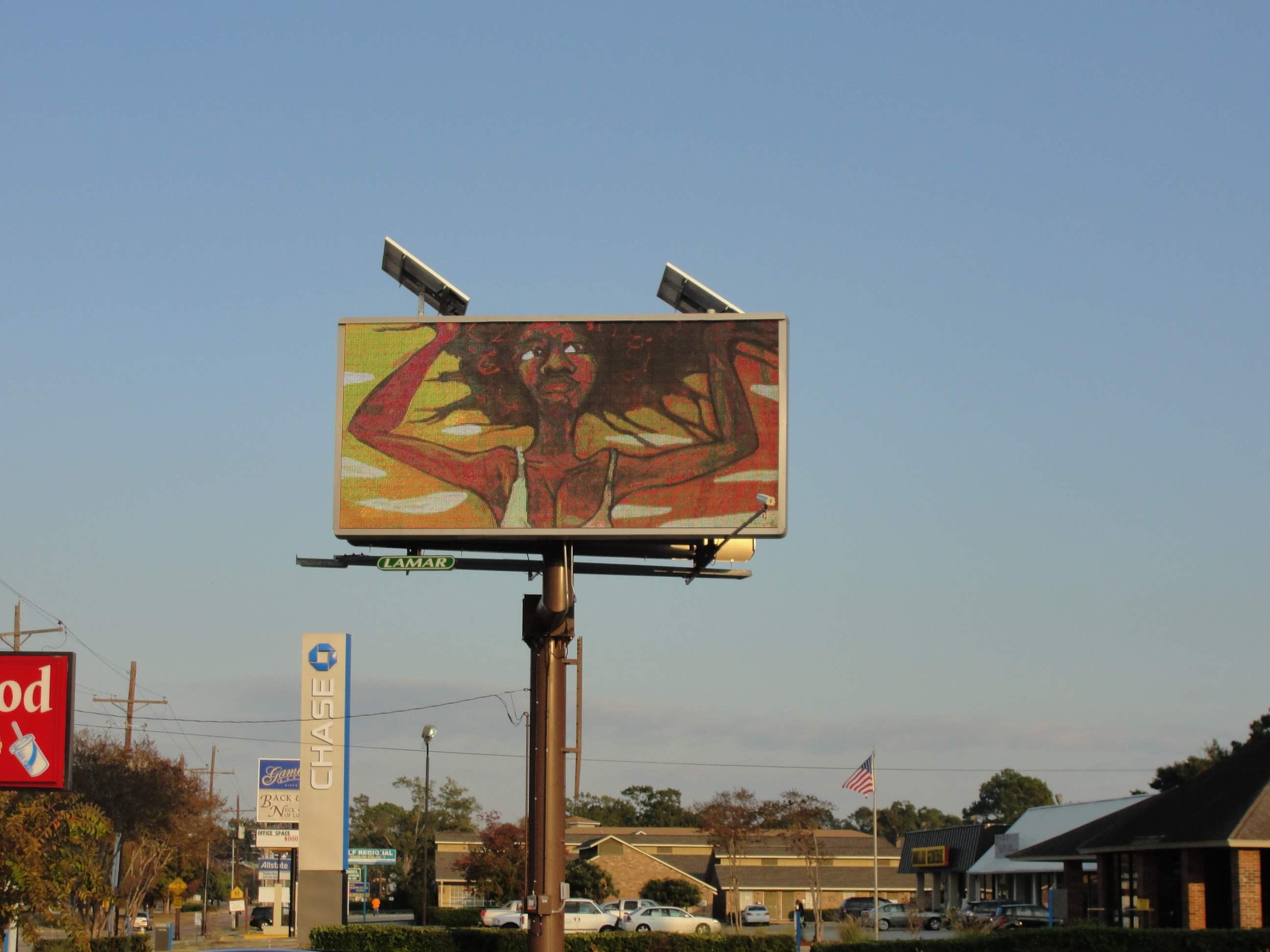 Baton Rouge billboard