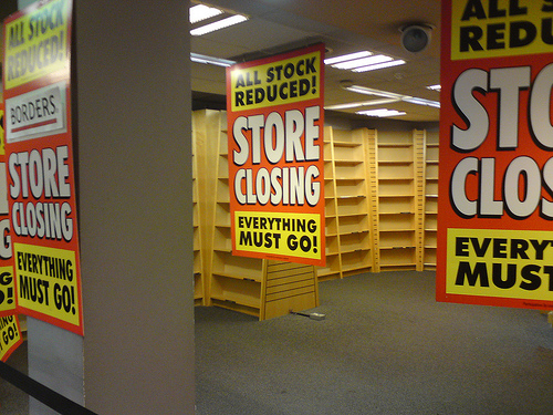 Closing store.