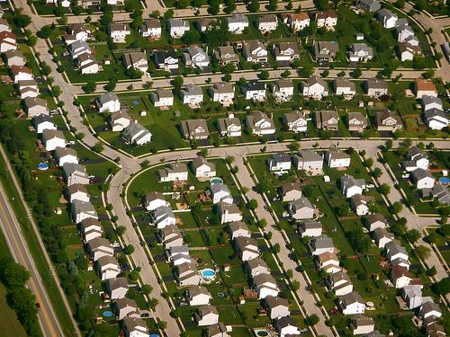 Chicago sprawl.
